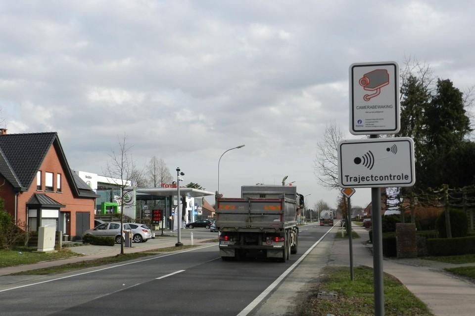 De trajectcontrole in Merksplas is de eerste in de politiezone Noorderkempen.