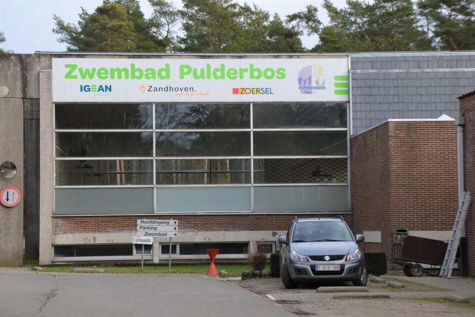 Het zwembad van Pulderbos.