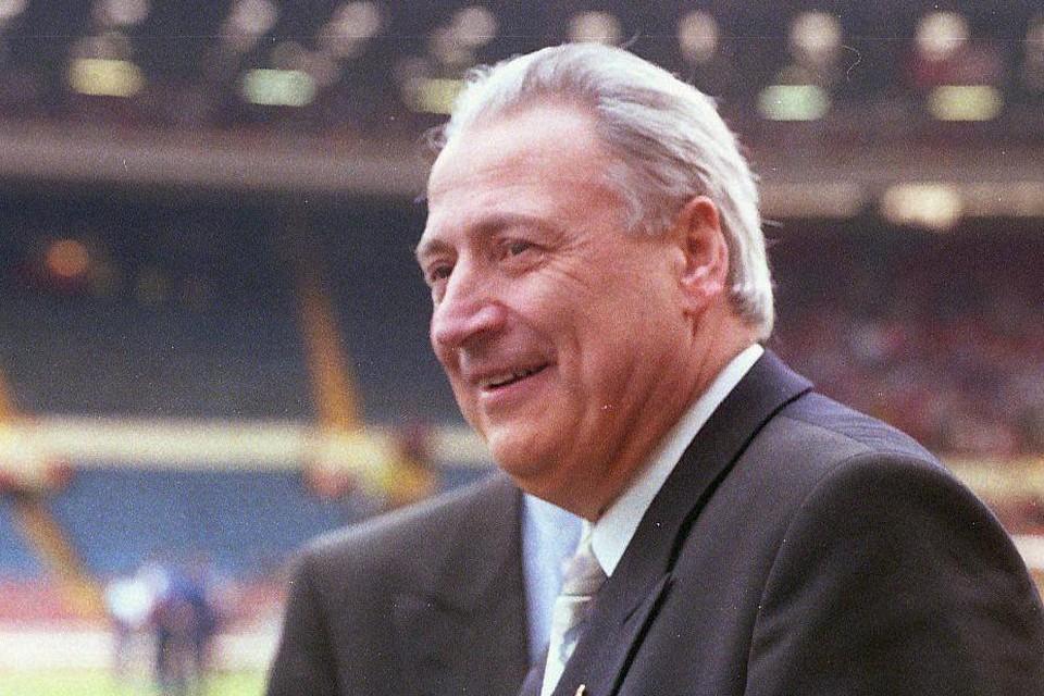 Eddy Wauters in 1993, toen voorzitter van voetbalclub Antwerp.