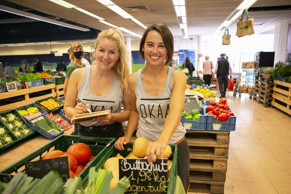 Jessie De Bie en Sofie De Clercq van Lokaalmarkt.