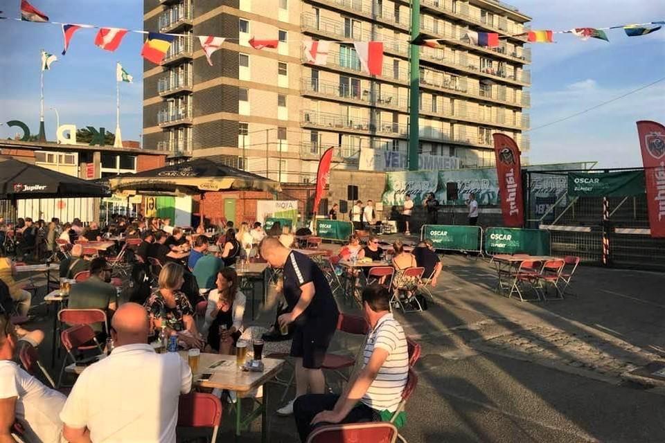De optredens en EK-wedstrijden op Oscarpelouza Zomert lokten heel wat toeschouwers.