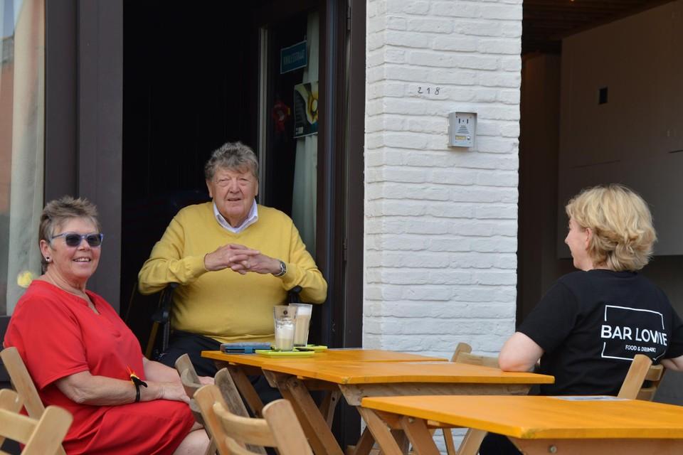 Louis Van den Eynde bij Bar Lowie.
