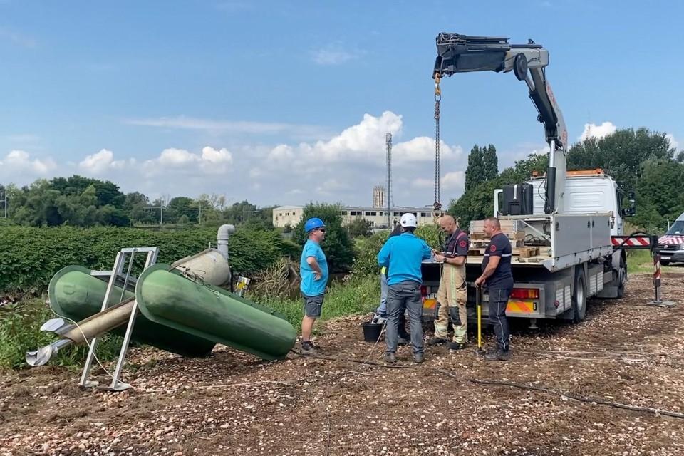 De pompen worden dinsdagnamiddag geleverd en in de Dijle aangebracht.