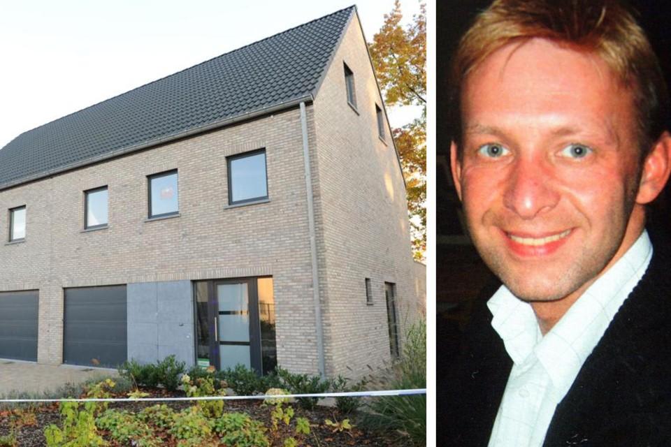 Immomakelaar Gunther Haagen werd vermoord toen hij aan een koppel uit Tilburg deze woning toonde.