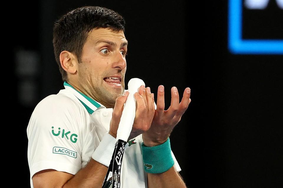 Een sublieme Djokovic.