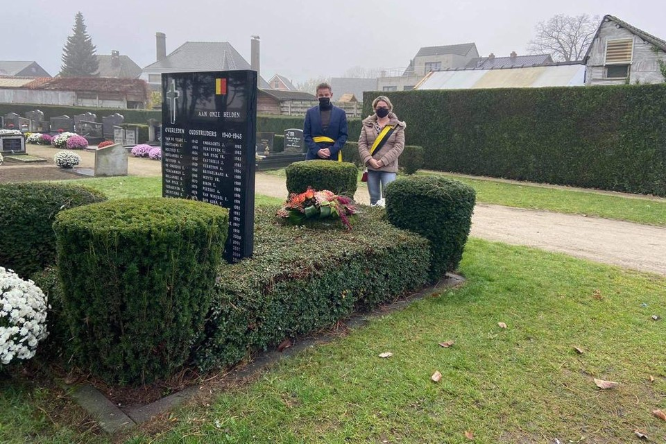 Steven Van Staeyen en Mieke Maes in Pulderbos.