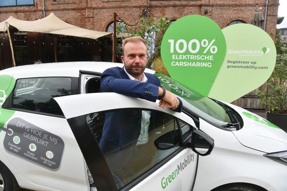 Steve Van Avermaet, CEO GreenMobility België.