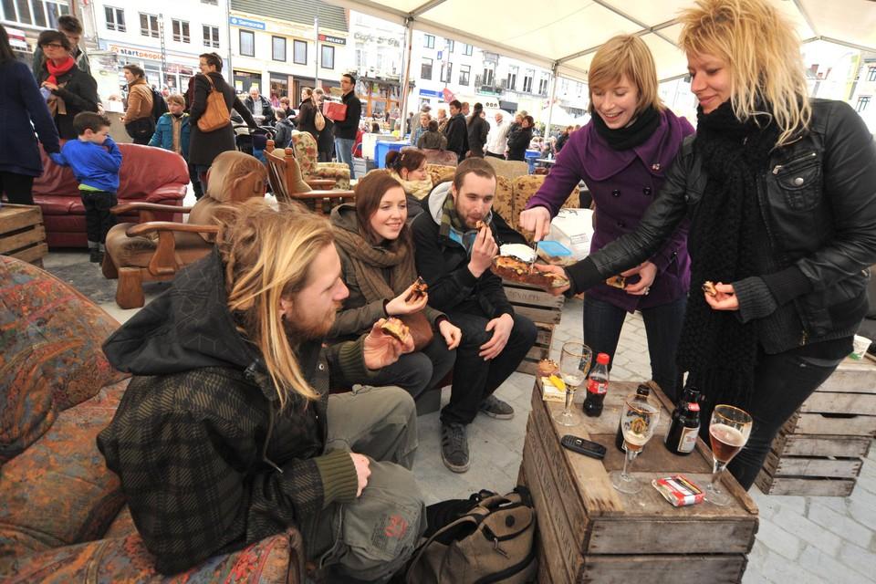 Turnhout Taart was een van de evenementen tijdens het openingsweekend van Turnhout 2012. De stad was toen Vlaamse Culturele Hoofdstad.