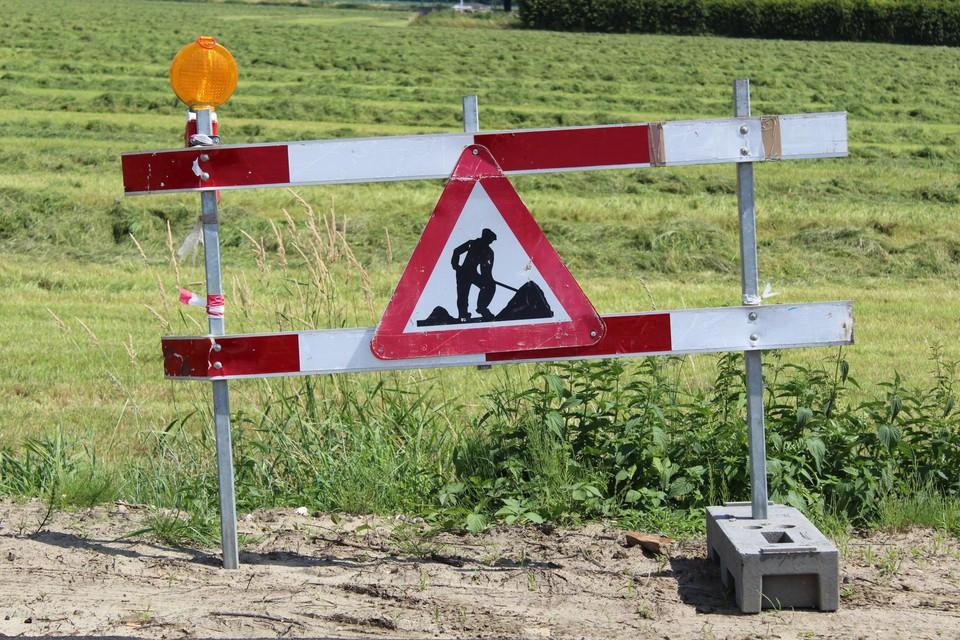 De werken kunnen lichte verkeershinder veroorzaken