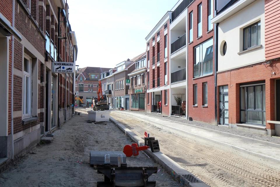 De Jan Frans Willemsstraat krijgt vorm.
