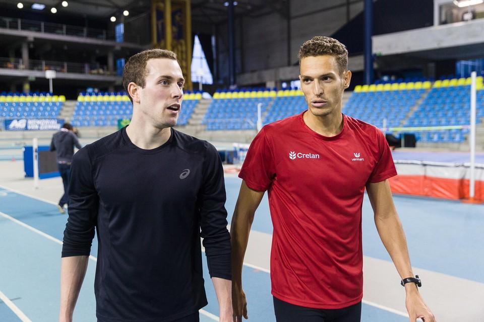 Robin Vanderbemden (links).