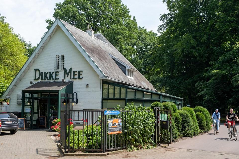 Dikke Mee in Antwerpen, vlak bij het Nachtegalenpark.