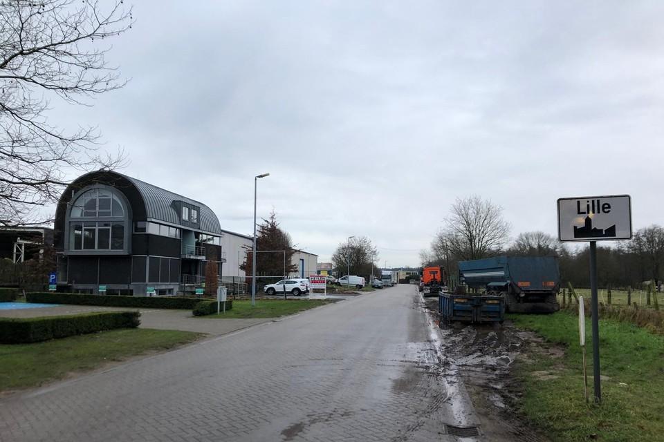 Industriezone Achterstenhoek in Lille onder de loep.