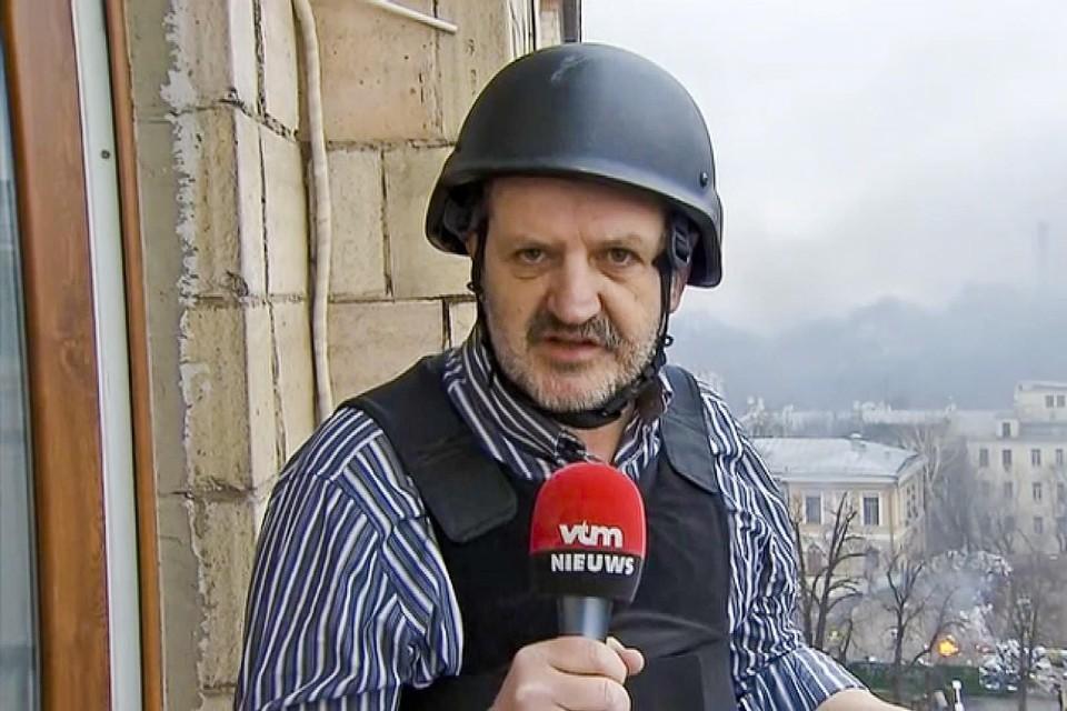 Turnhoutenaar Patrick Van Gompel wil een eventuele Nederlandse opmars desnoods gewapenderhand een halt toe roepen.