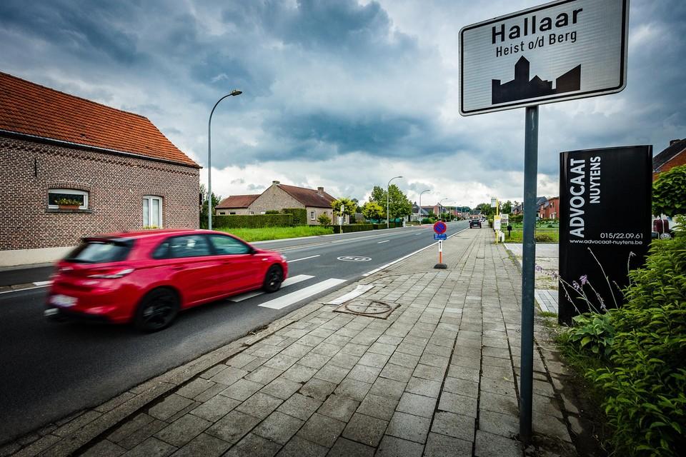 De agressie deed zich voor in de L. Carréstraat, richting Hallaar.