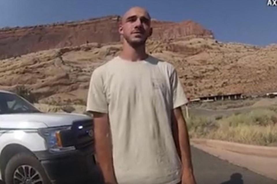 Bodycam beelden van Brian Laundrie na ruzie met Gabby