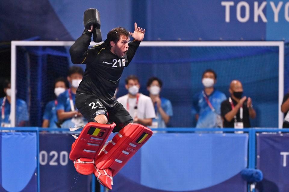 Niet Alexander Hendrickx, maar doelman Vincent Vanasch was de eindbaas in de finale tegen Australië.