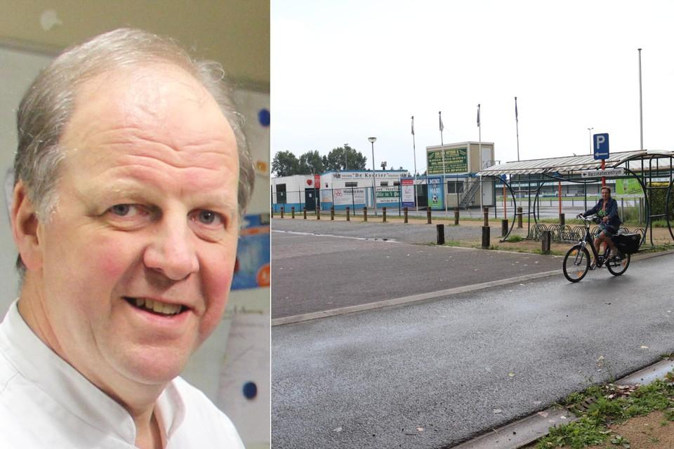 Schepen Harry De Wolf heeft grote plannen met de sportzone Houtvoort, die fors uitgebreid wordt.