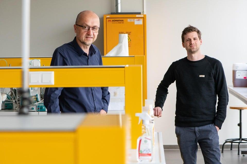 Stefaan De Smedt en Rein Verbeke (UGent): mRNA-specialisten van eigen bodem.