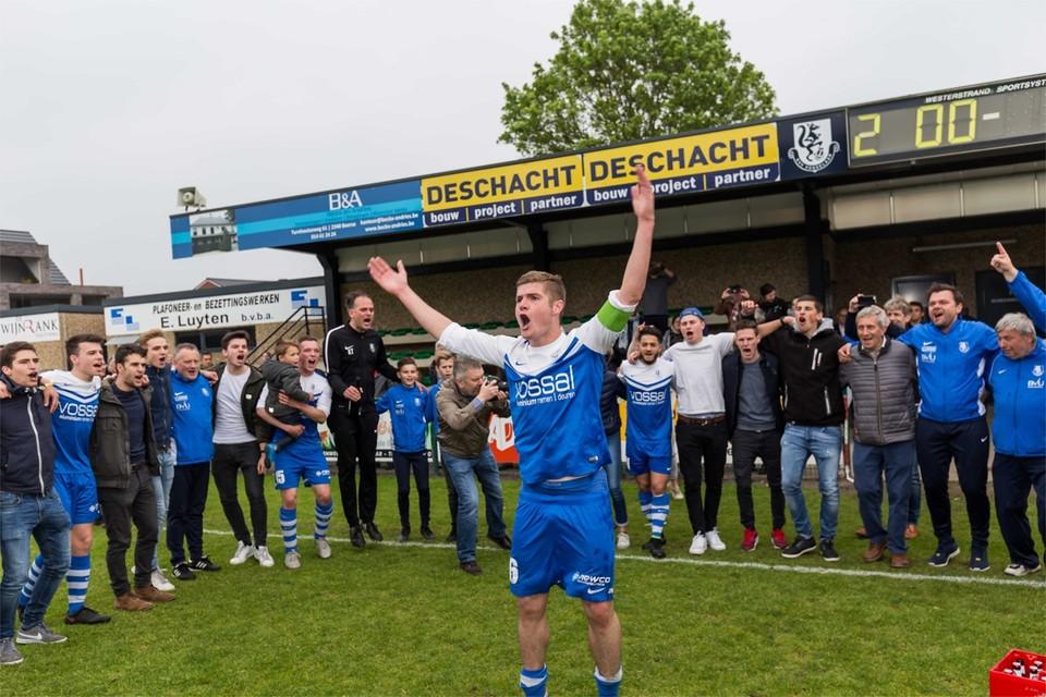 In 2017 promoveerde KVV Vosselaar naar de tweede amateurklasse. De ploeg koos intussen voor vrijwillige degradatie om het hoofd boven water te houden.