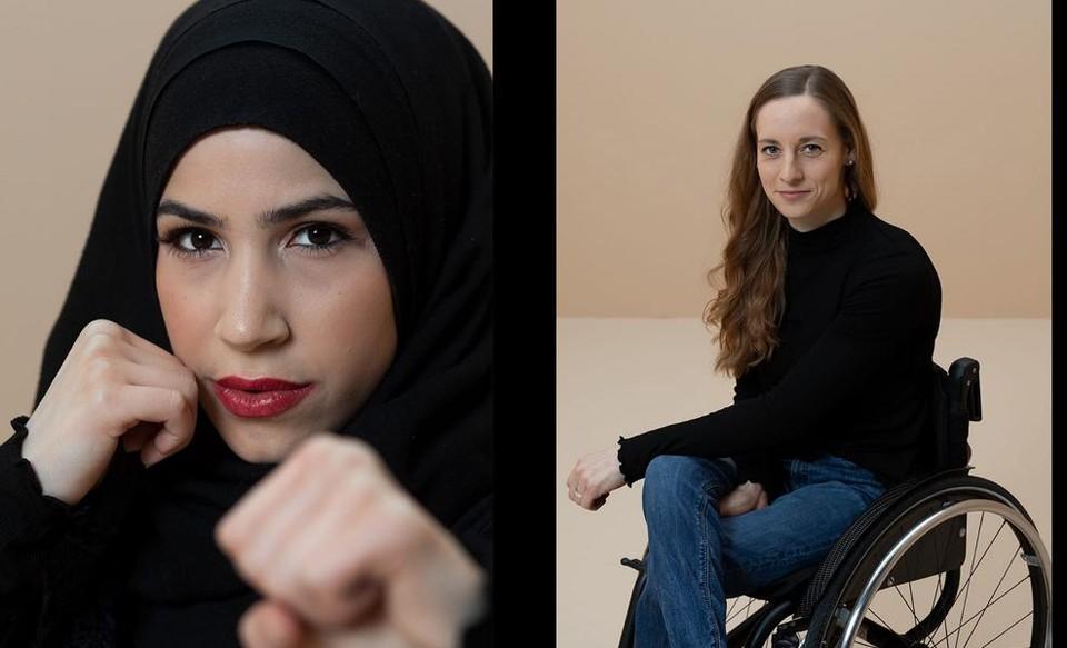 Zeina Nassar en Anna Schaffelhuber