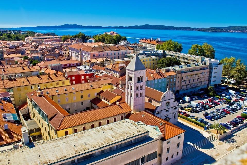 Zadar, niet ver van de badplaats Petrcane, waar het ongeval plaatsvond.