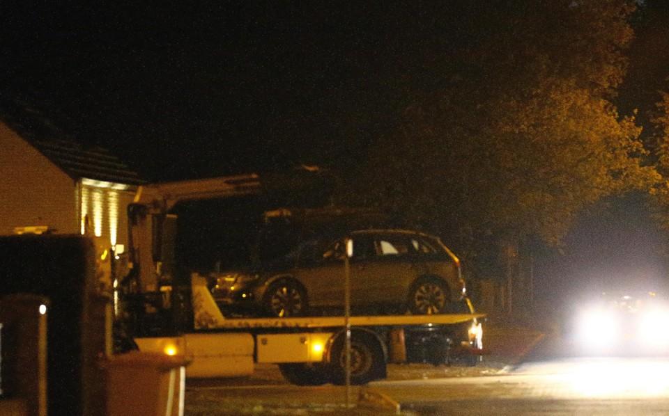 De auto van Jurgen C. werd de afgelopen nacht getakeld.