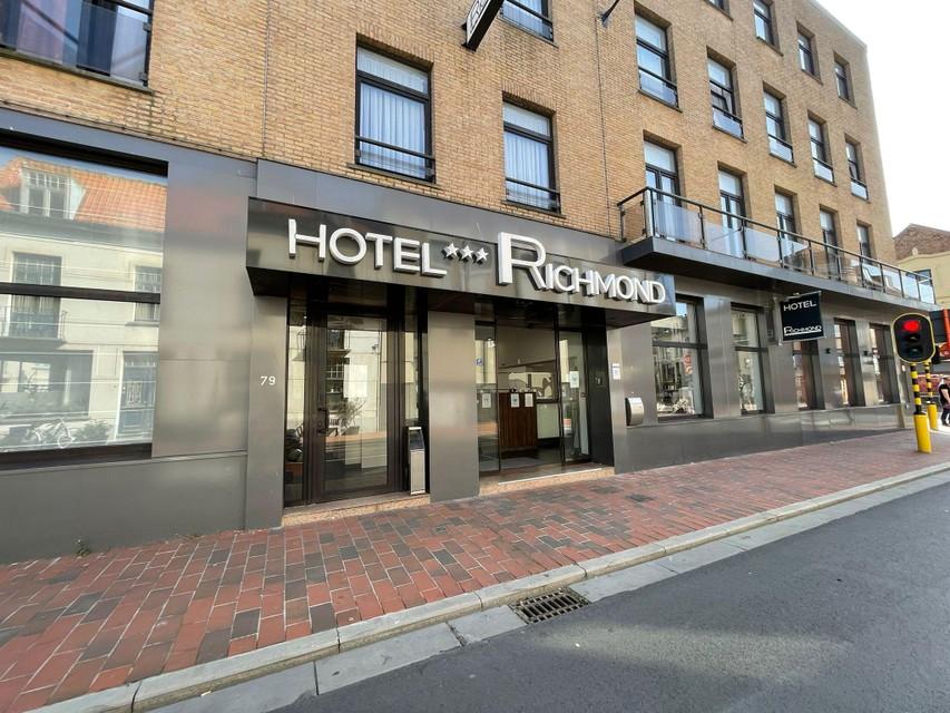 De twee ontsnapten hielden zich schuil in een hotel in Blankenberge.