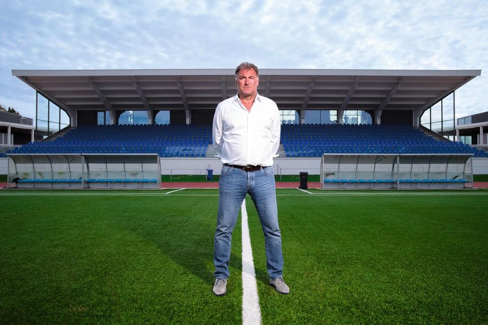 Yves Van Borm speelde vier keer kampioen in vijf jaar als trainer van Royal Knokke FC.