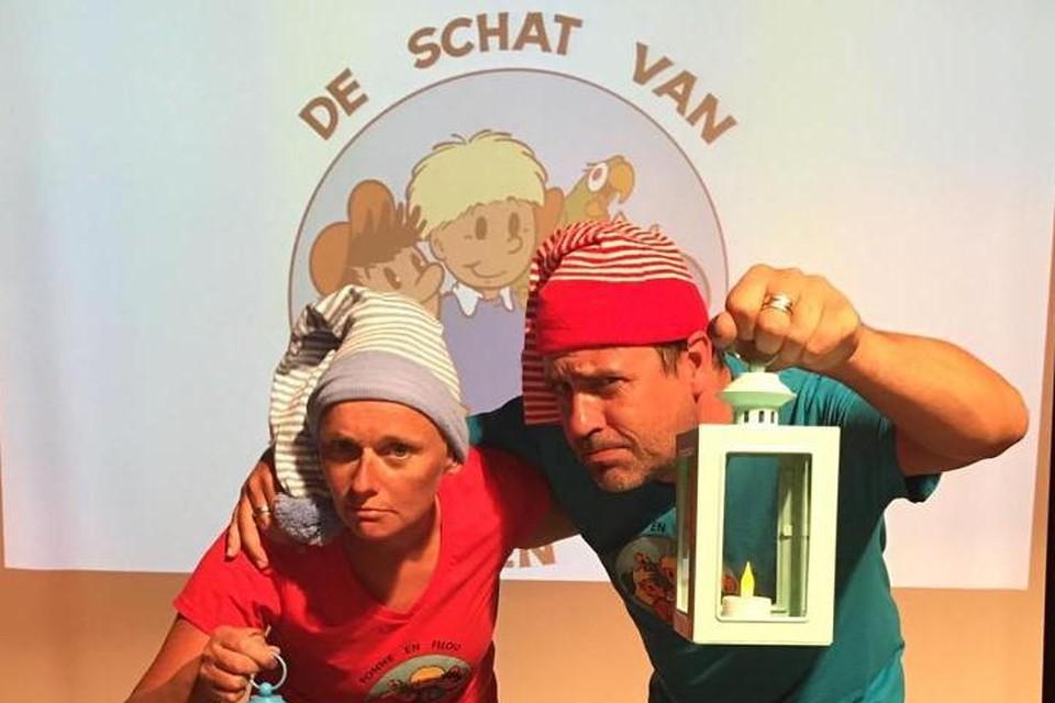 Caro Vanden Brande en Wim Geysen treden op als Fonne&Filou.