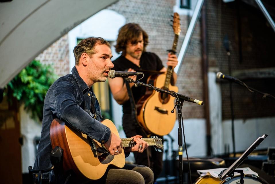 Klaas Delrue en Stefan Dixon.