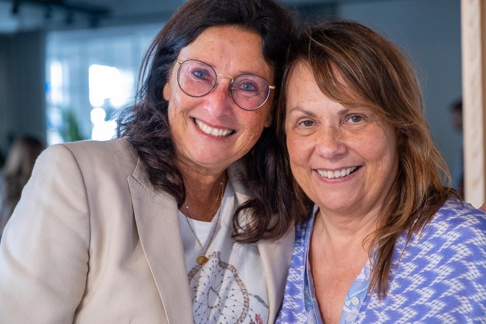 Kirsten Reiners is de mama van Nick Celis, Conny Busschaert die van Thierry Mariën.