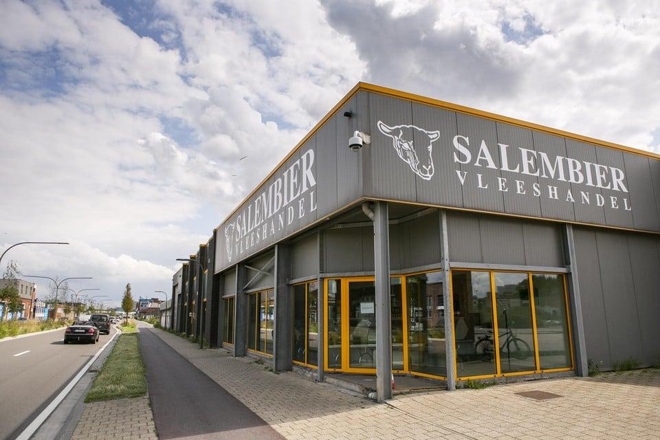 Slachterij en vleeshandel Salembier aan de Slachthuislaan in Antwerpen.
