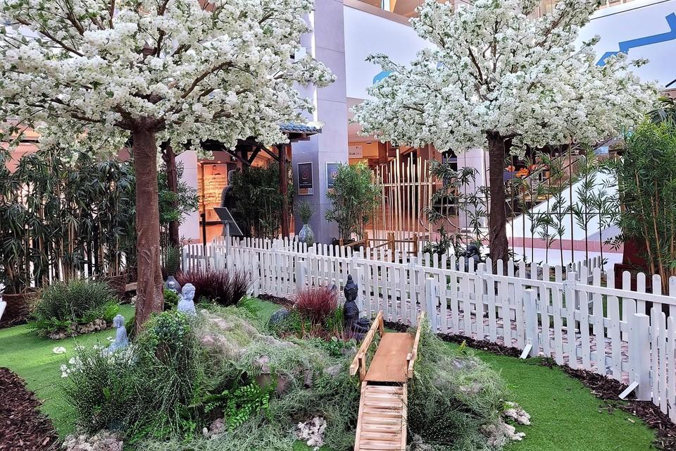 Japanse bloesemtuinen