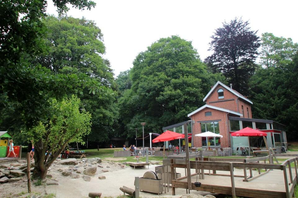 Bar Bos in het Meihof wordt woensdag het speelterrein voor de kinderen.