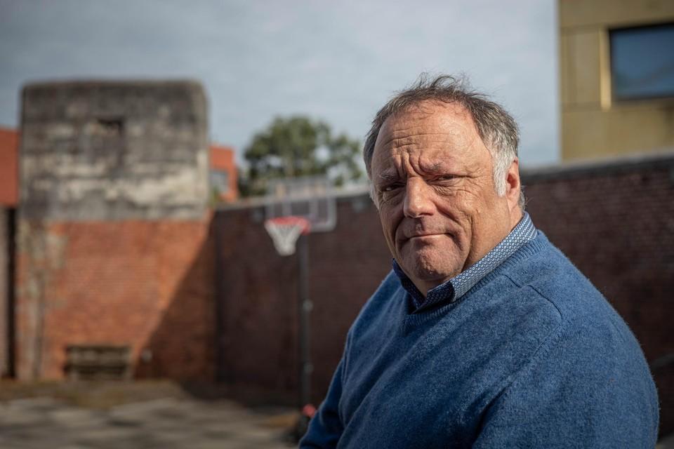 Professor Marc Van Ranst was te gast op het symposium 'Voor een prikje naar de toekomst' in de oude gevangenis van Hasselt.