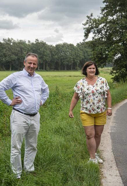 Stefan en Kathleen wonen vlak bij de Kolonie en kunnen hun 'achtertuin' voor geen geld van de wereld missen.