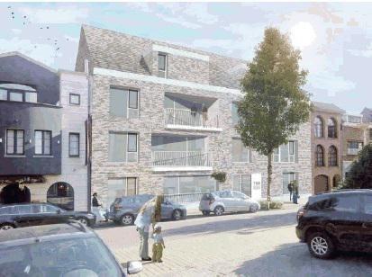 Atelier MA+P uit Brussel tekende de twee nieuwe gebouwen voor De Ideale Woning aan de Paalstraat enerzijds, en Kruispadstraat anderzijds.