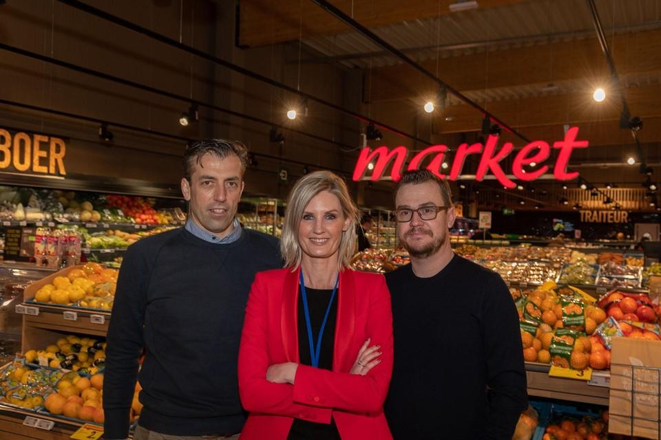 Koen Dierickx dirigeert als verantwoordelijke de twee winkels van Nick Nuyens (rechts) in Testelt en Brecht. Lynn Peeters neemt de dagelijkse leiding in Brecht voor haar rekening.