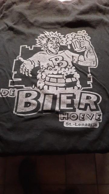 Voor de twintigste verjaardag van de Bierhoeve had Lex een logo ontworpen. Die verjaardag heeft hij net niet gehaald.