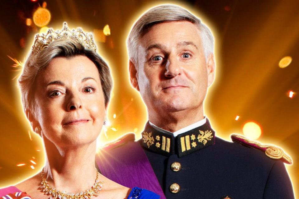 Ingeborg is gastvrouw van de humoristische theatershow van Stany Crets. Koning van dienst is Patrick Onzia.
