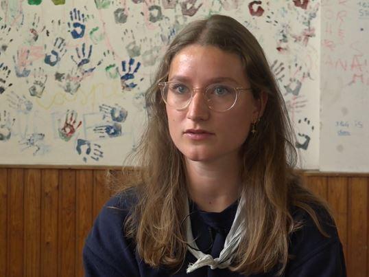 """Groepsleidster Louka Janssen: """"Een rare twist na onze aanwezigheid van 20 jaar."""""""