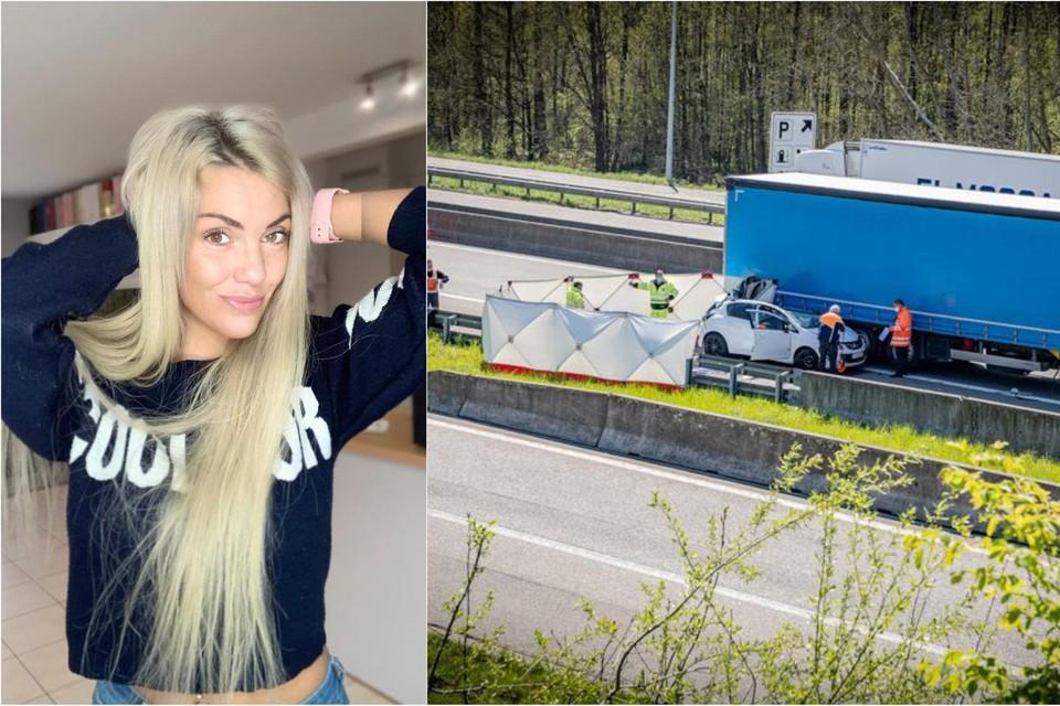Op 26 april rijdt influencer Kelly Scheppers (30) met haar wagen in op een stilstaande vrachtwagen. Hulp kan niet meer baten.