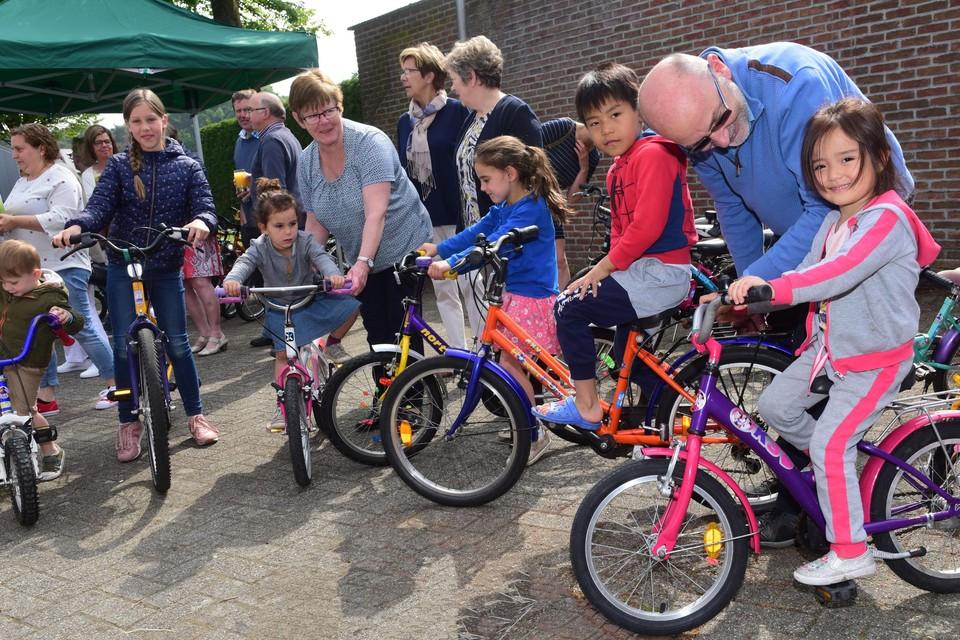 Net als in Merksplas twee jaar geleden opent ook in Vosselaar een fietsbieb.