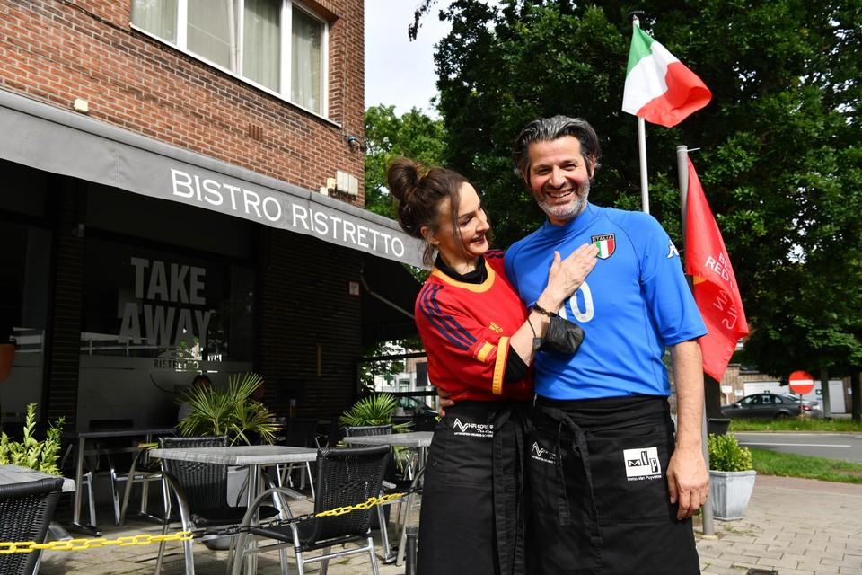 Roberto Mandaglio is een Italiaan, zijn vrouw Sonia Vazquez een Spaanse.