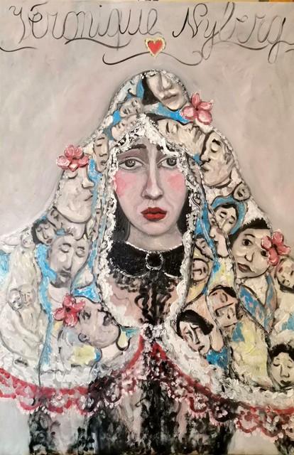 Eén van de werken van Véronique.