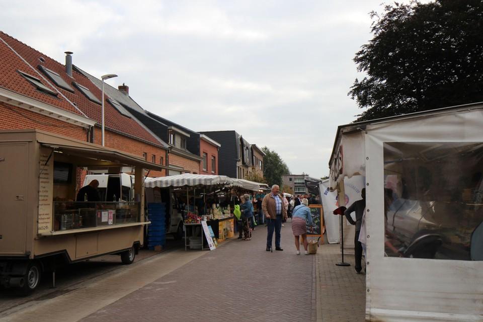 De markt van Vremde is de recentste nieuwkomer in de zuidrand.