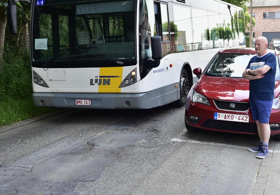 De bus Mechelen-Battel-Leest.