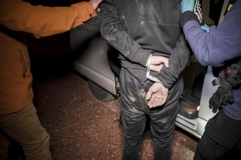 De man gedroeg zich agressief tijdens zijn arrestatie (archiefbeeld).