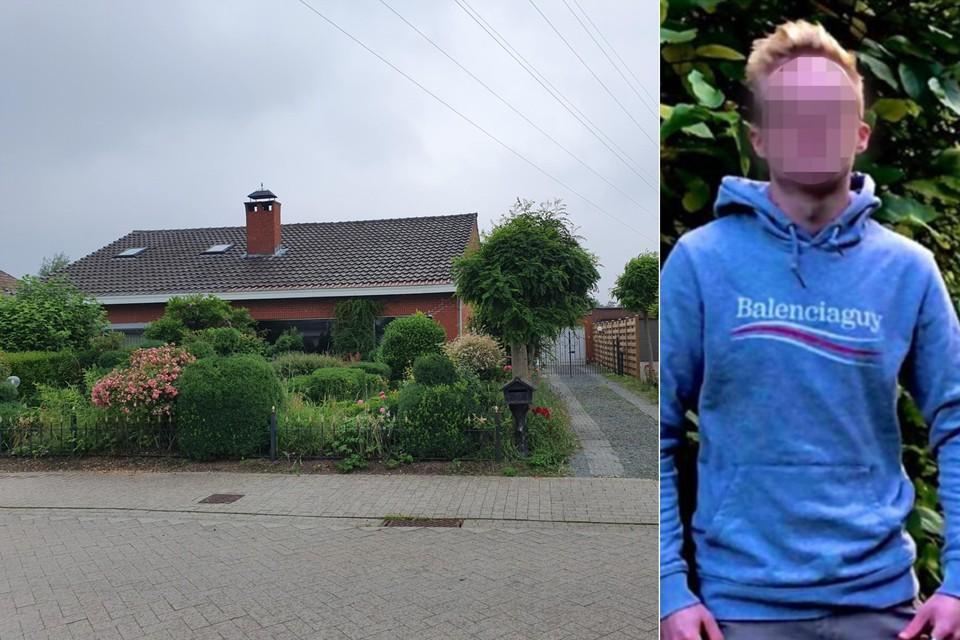 De raadkamer in Dendermonde heeft de aanhouding verlengd van de 20-jarige Jens H. (rechts). Hij stak vorige donderdag een man neer op zijn oprit in Beveren.